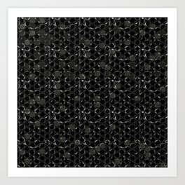 Bubble wrap design Art Print
