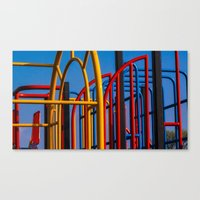 frames Canvas Prints featuring Frames by Lewis Fone