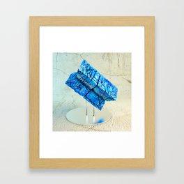 Lapislazuli Framed Art Print