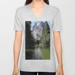 Wolf Mountain Unisex V-Neck