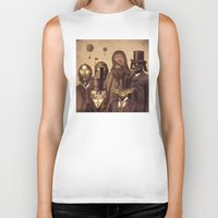 x files Biker Tanks featuring Victorian Wars  by Terry Fan