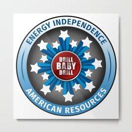 American Energy Independence Metal Print