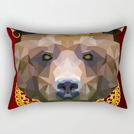 The King of Bears Rectangular Pillow