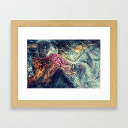 Everybody wants to rule the world Framed Art Print