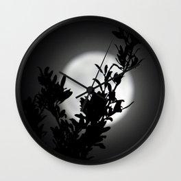 Moon Beams Wall Clock