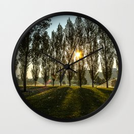 Penn State Sunrise Wall Clock