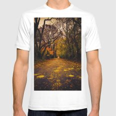 Finding the Beauty in Hurricane Sandy. Mens Fitted Tee MEDIUM White