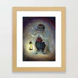 Lamplighter Framed Art Print