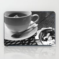 cafe iPad Cases featuring cafe by Emily Baker Photography and Design