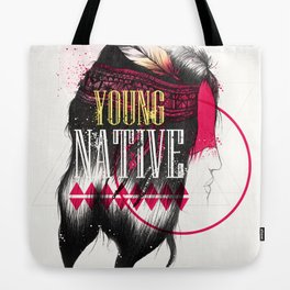 Young Native Tote Bag
