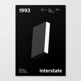 Sans Serif Vol. ¹ – Interstate Canvas Print