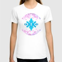 snowflake T-shirts featuring Snowflake by Blue Ivan