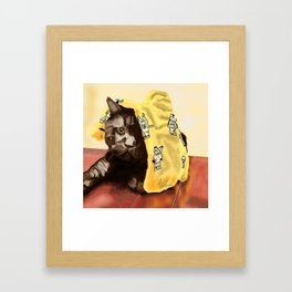 We Are Not Amused Framed Art Print