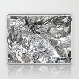 Silver Mylar Balloon Laptop & iPad Skin
