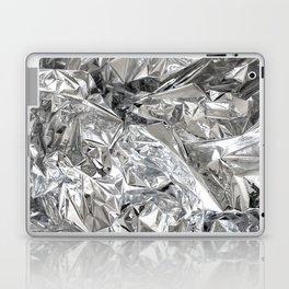 Silver Mylar Balloon Laptop & iPad Skin