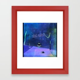 playing alone Framed Art Print