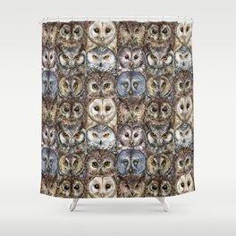 Owl Optics Shower Curtain