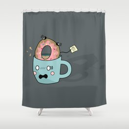 What have I done?! Shower Curtain