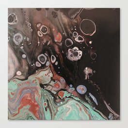 funky bubbles5 Canvas Print