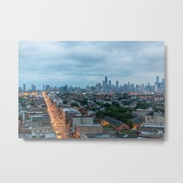 Chicago from The Robey Metal Print