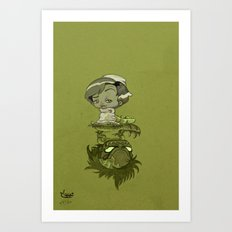 contraction Art Print