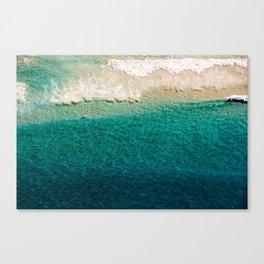 Crystal Surf Canvas Print