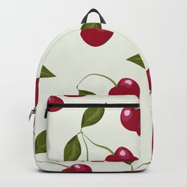 Cherry pattern . No. 1 Backpack
