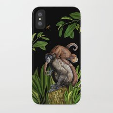 Monkey iPhone X Slim Case
