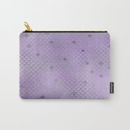 Purple Mermaid Scales Carry-All Pouch