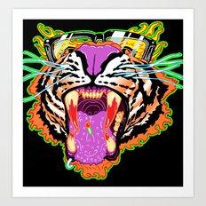 Tyger Style Art Print