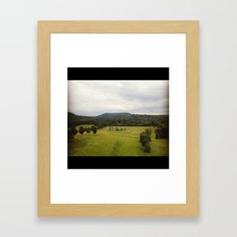 Cornwall-on-Hudson, NY Framed Art Print