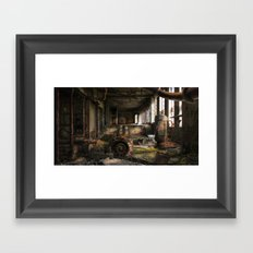 Deserted Factory Framed Art Print