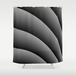 Focal Curve Shower Curtain