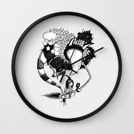 Imaginary Fiend Wall Clock