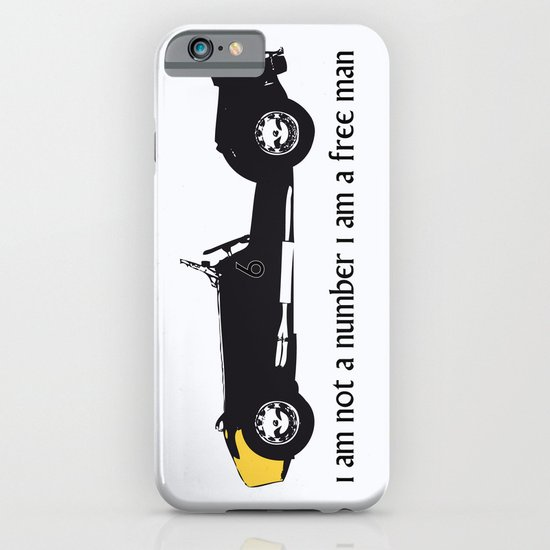 i am not a number iPhone & iPod Case