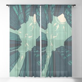 Solitary Dream Sheer Curtain