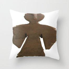 Adobe Angel V Throw Pillow