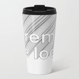 Lorem de Loop #019 Metal Travel Mug