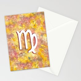 Zodiac sign : Virgo Stationery Cards