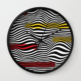 WaveX Series Wall Clock