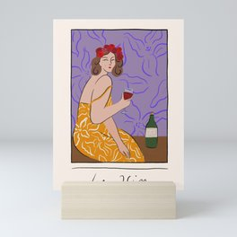 Le Vin Mini Art Print
