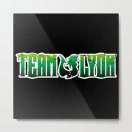 Team Lyon Metal Print