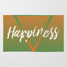 Happiness - Feelings series Rug
