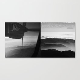 MOUNT EVEREST 002 Canvas Print