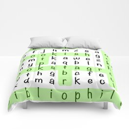 Bookstagram Word Search - Green Comforters