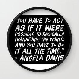 Radically Transform the World Wall Clock