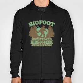 Bigfoot Hide-and-Seek Champion (vintage distressed look) Hoody