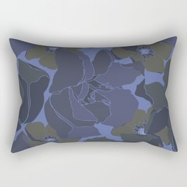 Night flowers Rectangular Pillow