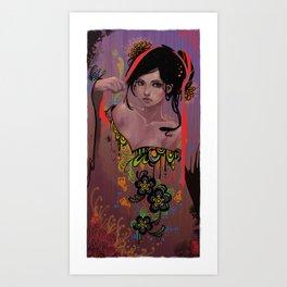 Damaged Art Print