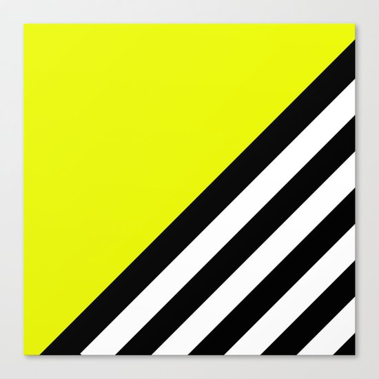 Sunshine Zebra Canvas Print